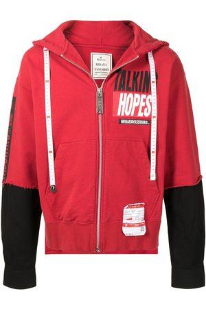 Maison Mihara Yasuhiro Taking Hopes hoodie