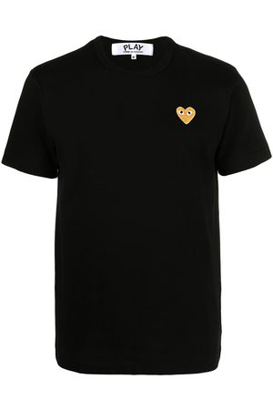 Comme des Garçons Heart patch T-shirt