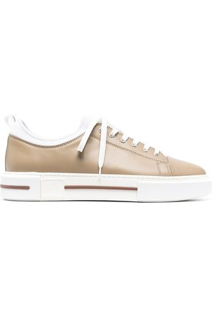 Eleventy Low-top leather sneakers