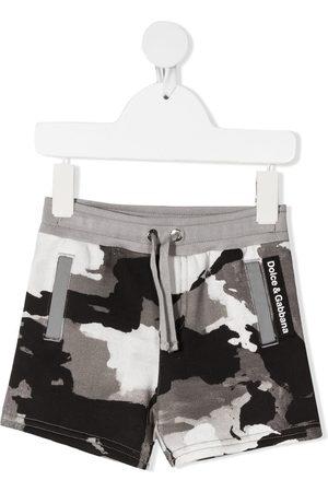 Dolce & Gabbana Camouflage logo print shorts