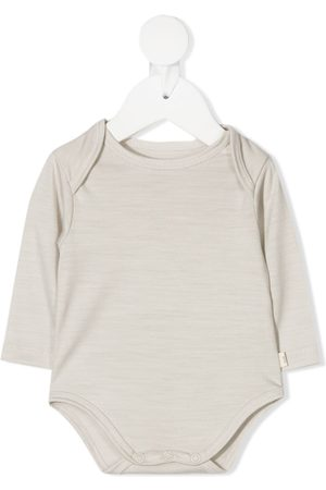 KNOT Marl knit baby grow