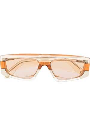 Jacquemus Men Sunglasses - Yauco geometric-frame sunglasses