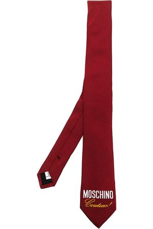 Moschino Couture! logo-print silk tie
