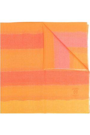 Hermès Pre-owned cashmere striped scarf