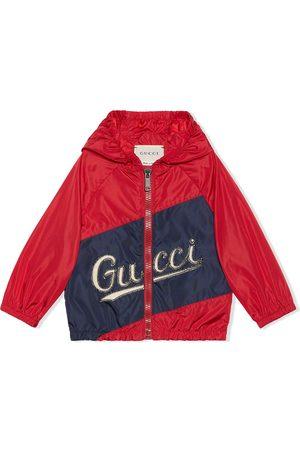 Gucci Logo-print hooded jacket