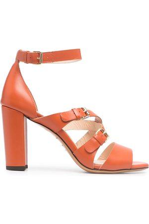 Tila March Open-toe leather sandals