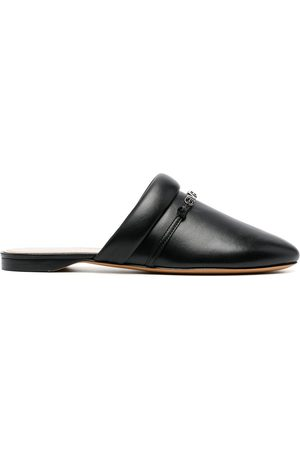 Givenchy Logo-print backless loafers