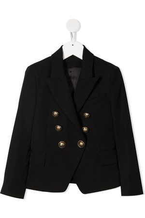 Balmain Girls Blazers - Double-breasted jacket