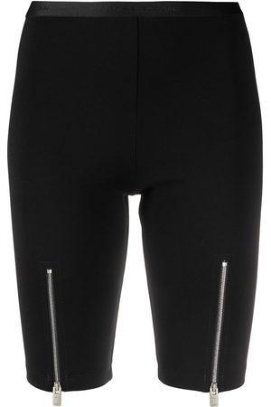 1017 ALYX 9SM Women Shorts - Front-zipped cycling shorts