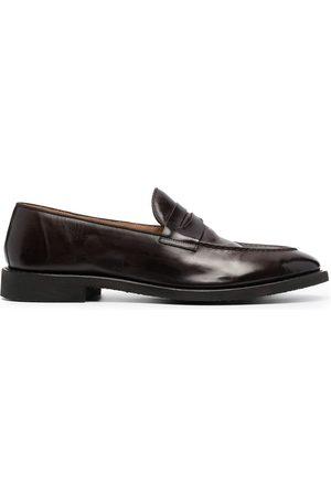 Alberto Fasciani Polished-finish loafers