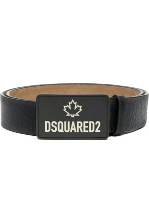 Dsquared2 Logo-print leather belt