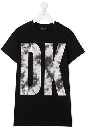 DKNY Logo-print T-Shirt dress