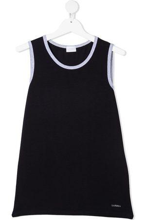 La Perla TEEN contrast-trim sleeveless top