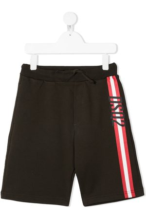 Dsquared2 Logo-stripe shorts