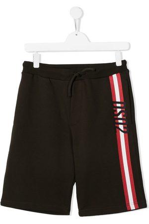 Dsquared2 Boys Shorts - TEEN logo-stripe shorts