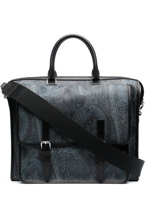 Etro Paisley-print laptop bag