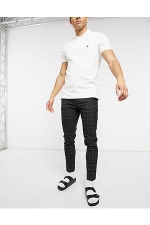 ASOS Smart super skinny trousers in check