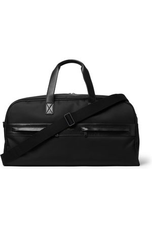 SAINT LAURENT Men Travel Bags - Camp Leather-Trimmed Shell Holdall