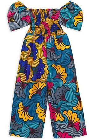 Elisamama Girls Jumpsuits - Baby's, Little Girl's & Girl's Toks Printed Jumpsuit