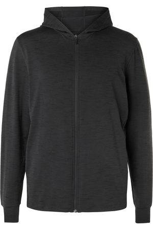 Nike Mélange Dri-FIT Jersey Zip-Up Yoga Hoodie