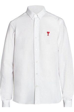 AMI Paris Ami De Coeur Logo Patch Sport Shirt
