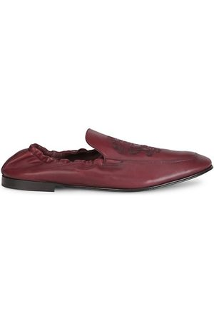 Dolce & Gabbana Ariosto Leather Loafers
