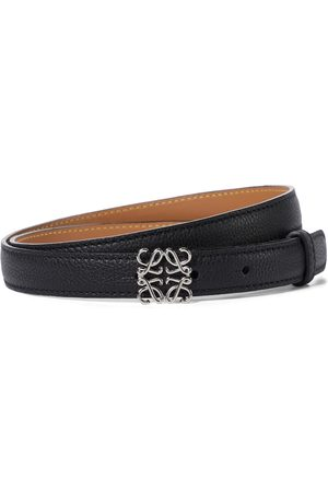 Loewe Women Belts - Anagram leather belt