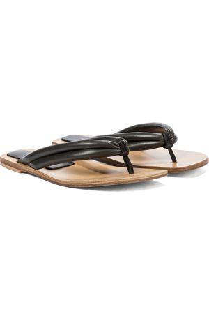 DRIES VAN NOTEN Women Sandals - Leather thong sandals