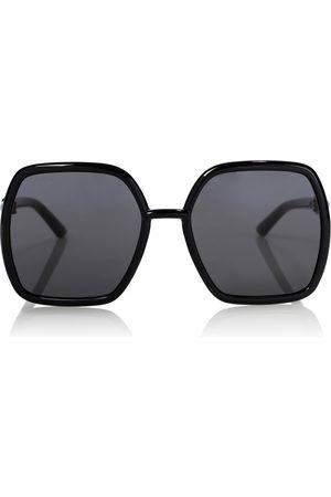 Gucci Horsebit oversized sunglasses