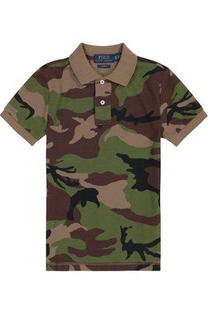 Ralph Lauren Camouflage cotton piqué polo shirt