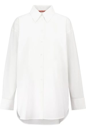 Acne Studios Women Long Sleeve - Cotton poplin shirt