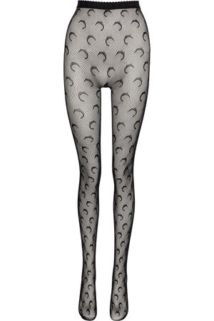 Marine Serre Logo high-rise tights