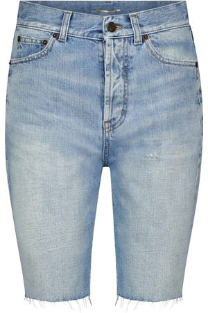 Saint Laurent Denim Bermuda shorts
