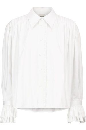 Khaite Women Long Sleeve - Vanina cotton poplin shirt