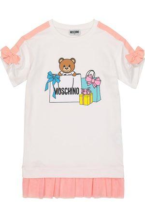 Moschino Girls Printed Dresses - Printed T-shirt dress