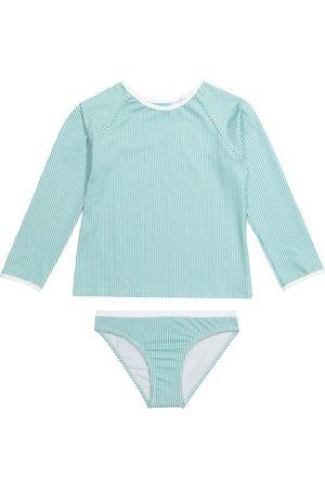Melissa Odabash Girls Tops - Baby Dakota rashguard swim set