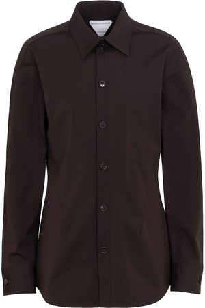Bottega Veneta Stretch cotton poplin shirt