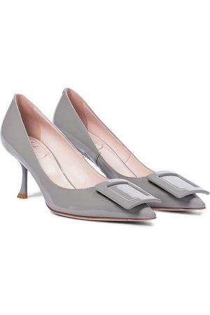 Roger Vivier Women Shoes - Viv' In The City patent leather pumps