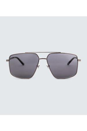 Gucci Men Sunglasses - Metal aviator sunglasses