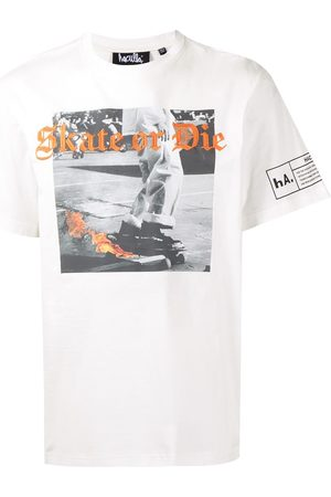 HACULLA Men Short Sleeve - Skate or Die embroidery T-shirt