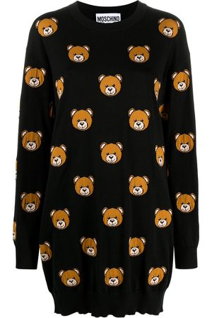 Moschino Teddy bear pattern jumper
