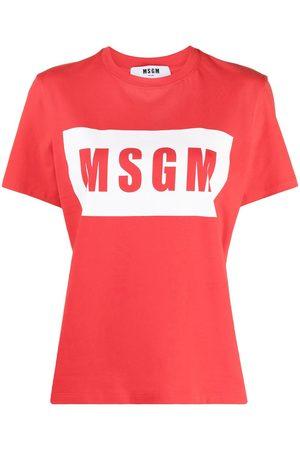 Msgm Logo-print T-shirt