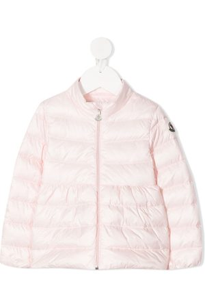 Moncler Baby Coats - Logo-patch padded coat