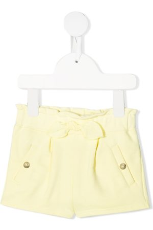 Chloé Baby Shorts - Ruched knitted shorts