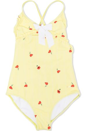 Chloé Girls Swimsuits - Floral print swimsuit