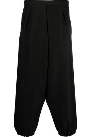 Saint Laurent Cropped tapered trousers