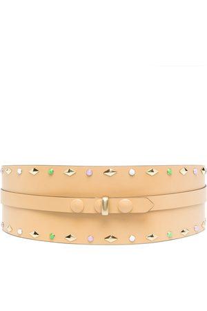 Isabel Marant Women Belts - Stud-detail leather belt