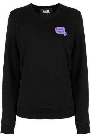 Karl Lagerfeld Mini logo patch sweatshirt