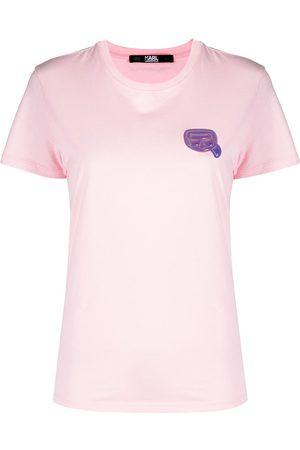 Karl Lagerfeld Mini Ikonik Karl-patch T-shirt