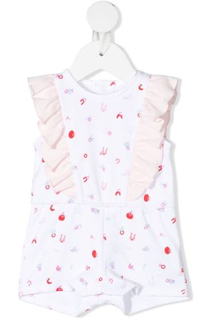 The Marc Jacobs Letter-print sleeveless shorties